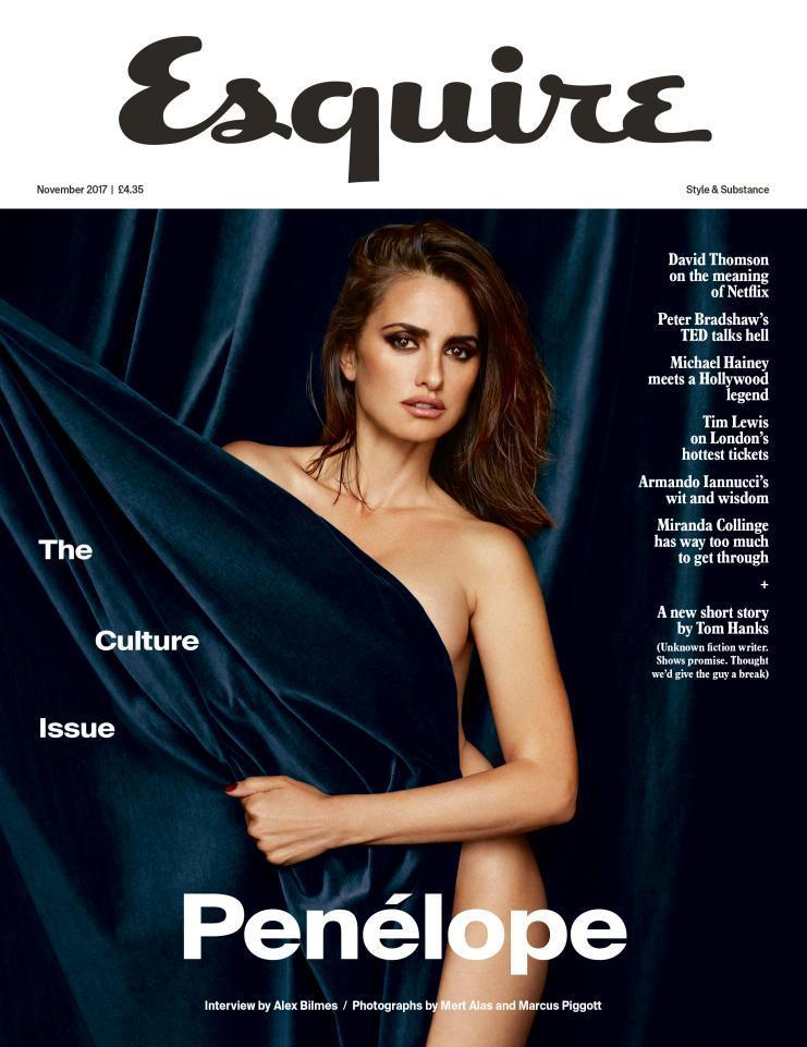 """Penelope Cruz tutta nuda per """"Esquire"""""""