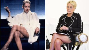 Sharon Stone è tornata e se accavalla le gambe, l?effetto è da