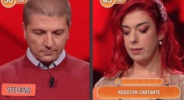 L'eredità, gaffe clamorosa sulla Houston cantante: ecco cosa è successo