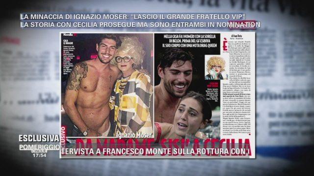 Ignazio Moser, un passato da stripper da Madame Sisì?