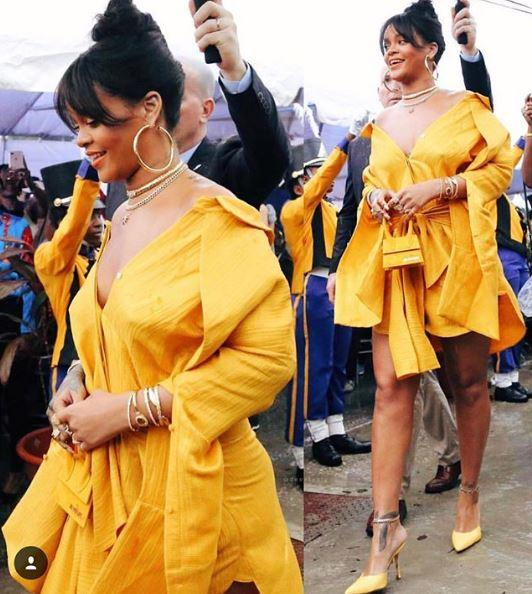 Rihanna star alle Barbados, intitolata una strada alla cantante