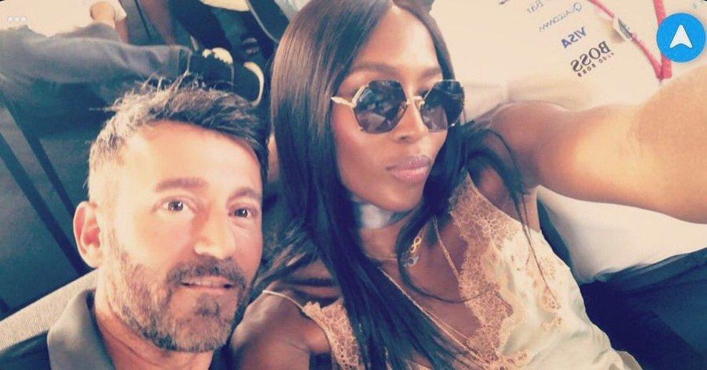 Max Biaggi e Naomi Campbell, ritorno di fiamma a Ibiza dopo 20 anni?