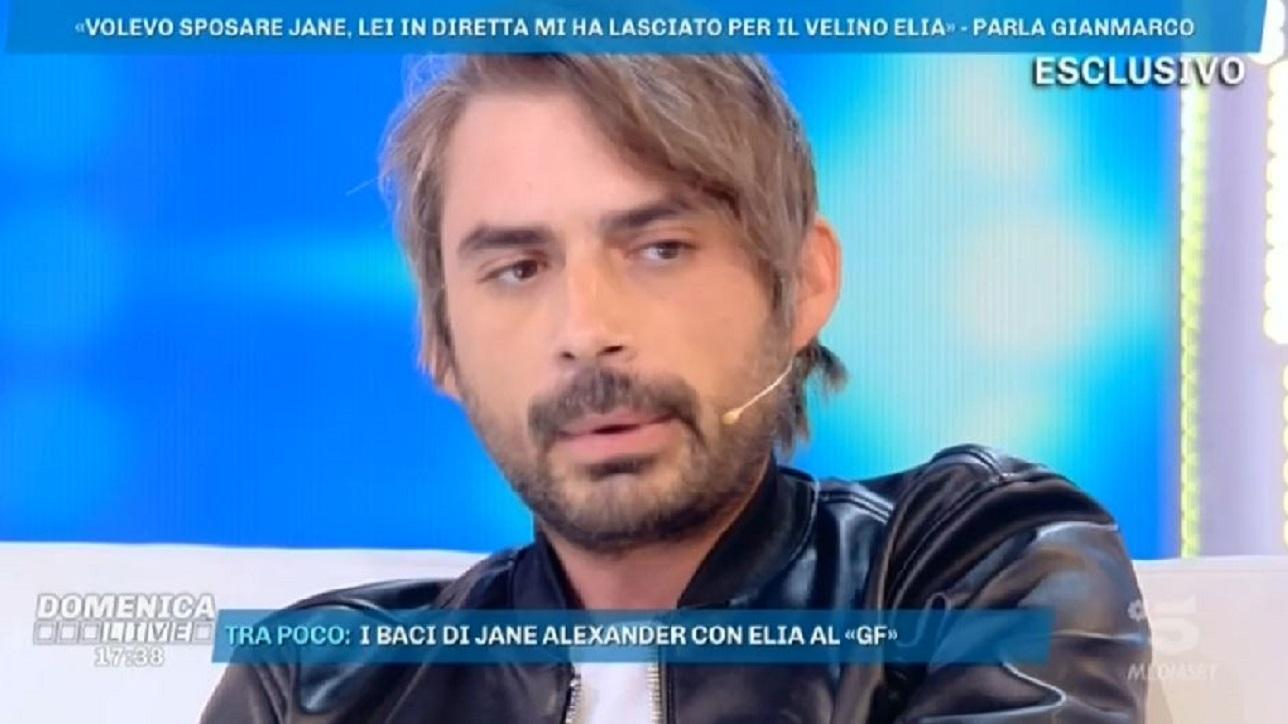 """Gianmarco: """"Le ho chiesto di sposarmi e lei mi ha tradito in diretta"""""""