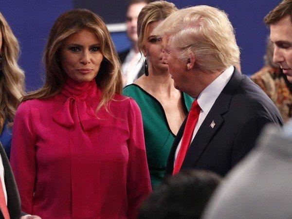 "La ""pussy bow"" Gucci inguaia Melania Trump"