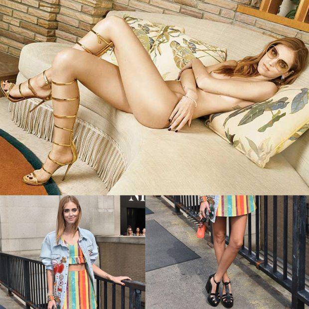 """Chiara Ferragni nu. da su Vanity Fair: """"Fedez? Mi ha conquistato con un """"limoniamo"""""""""""