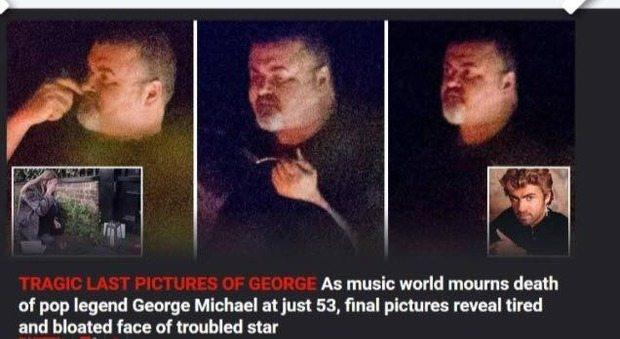 Stanco e visibilmente ingrassato: ecco George Michael nelle ultime foto
