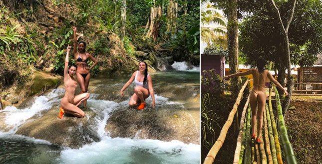 Bella Hadid, la vacanza per sole donne in Giamaica è esageratamente se. xy