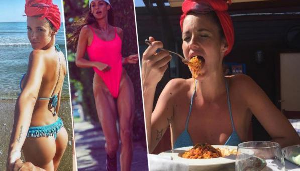 Gracia De Torres, un anno dopo l?Isola, con 12 chili in più
