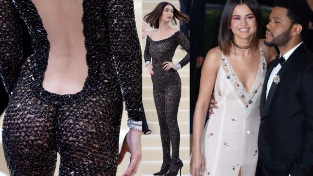 Gigi, Bella, Kendall e Cara esagerano al Met