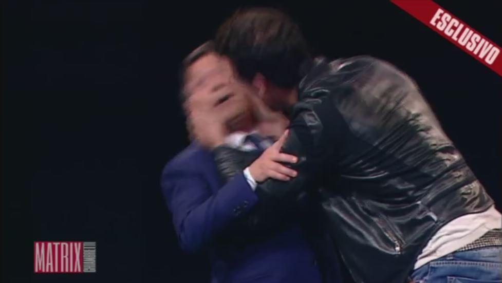 Matrix Chiambretti, boom di ascolti col bacio di Gabriel Garko
