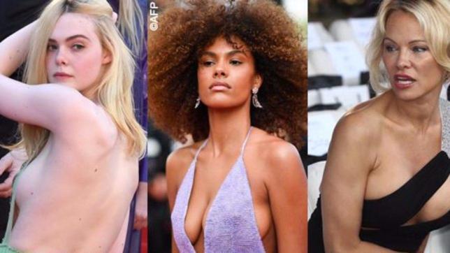Tina, Emily, Elle… sideboob per tutte