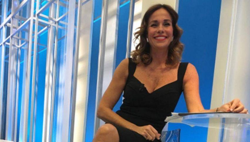 Cristina Parodi a Domenica in, il tweet 'amaro' su Giletti e L'Arena