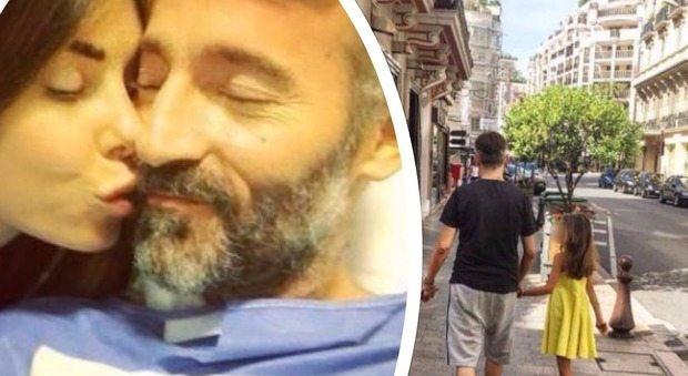 Max Biaggi, passeggia dopo l'incidente e dichiara il suo amore a Bianca