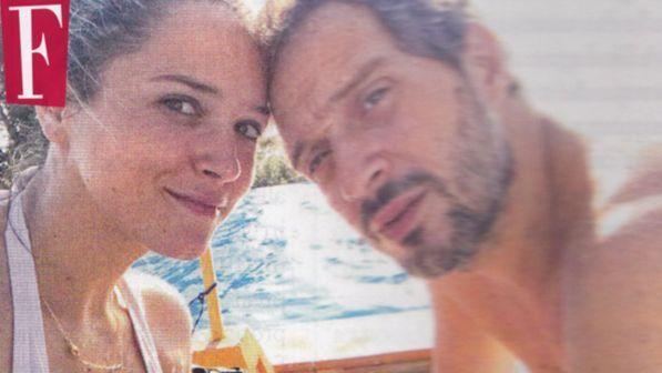 Claudio Santamaria non si nasconde più: serata romantica con la fidanzata Francesca Barra