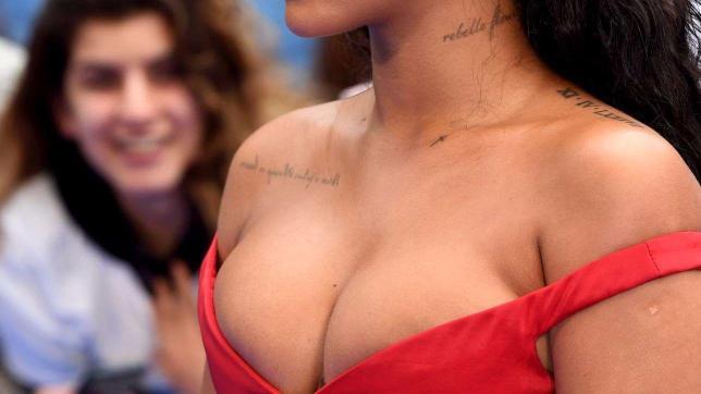 Rihanna, alla prima mondiale di