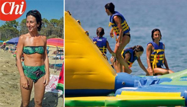 Agnese Renzi, vacanze low-cost in campeggio