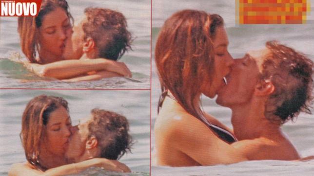 Giorgio Pasotti, baci e palpatine hot con la giovane fidanzata