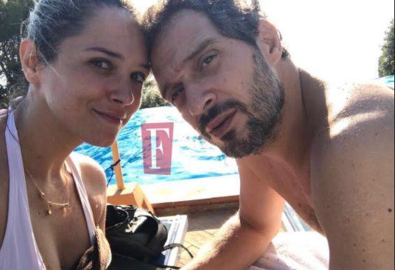 Claudio Santamaria e Francesca Barra, scoppia la passione a cena con gli amici