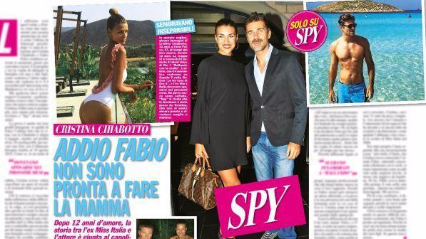 Cristina Chiabotto e Fabio Fulco, amore al capolinea
