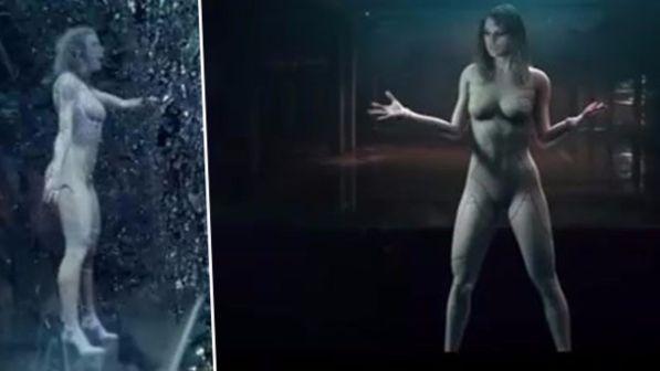 Taylor Swift in versione guerriera androide... completamente nuda