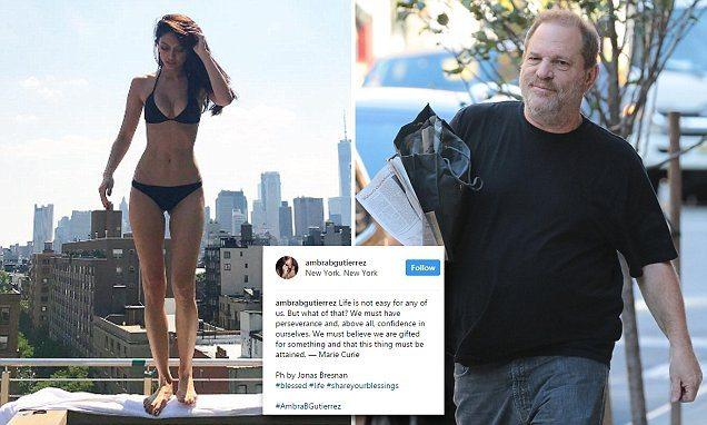 Weinstein, modella italiana: