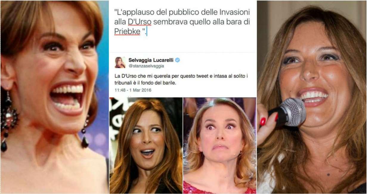 """Selvaggia Lucarelli condannata: """"Ha diffamato Barbara D'Urso su Twitter e Instagram"""""""