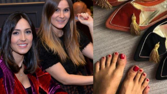 Ai piedi di Caterina solo scarpe di sua sorella