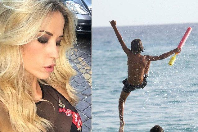 Elena Santarelli accusata: