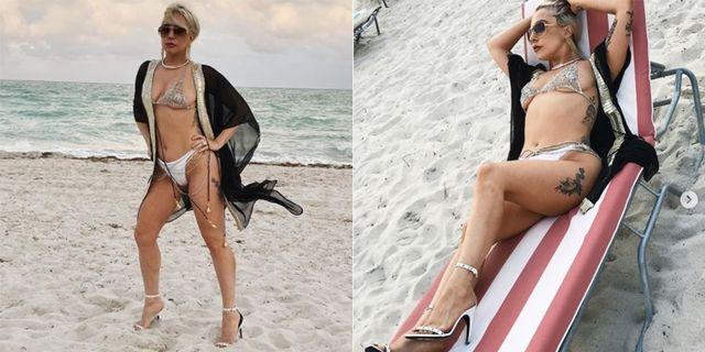 Lady Gaga in costume alza la temperatura sui social
