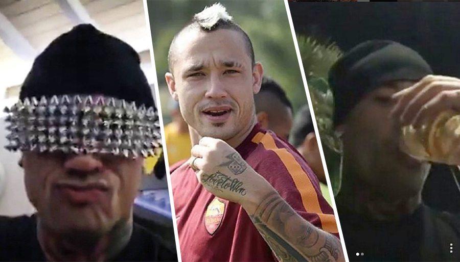 Nainggolan e il video social tra bestemmie, fumo e alcol. Cos'ha fatto il calciatore della Roma