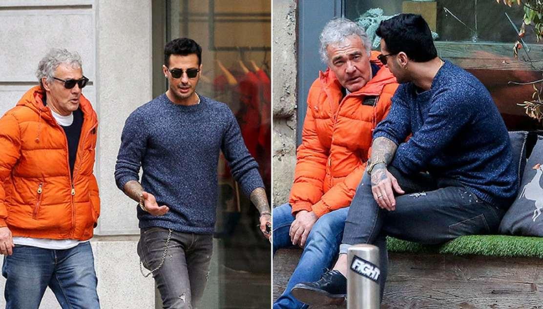 Fabrizio Corona e l'incontro con Massimo Giletti, accordi per un'intervista in tv?