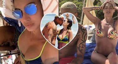 Melissa Satta supersexy a Ibiza col suo Kevin Prince Boateng e il piccolo Maddox