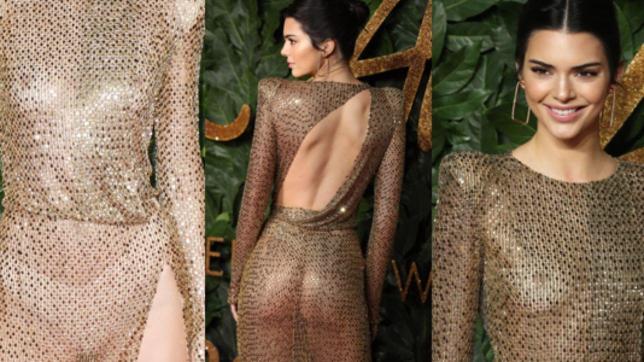 Kendall Jenner nuda col mutandone