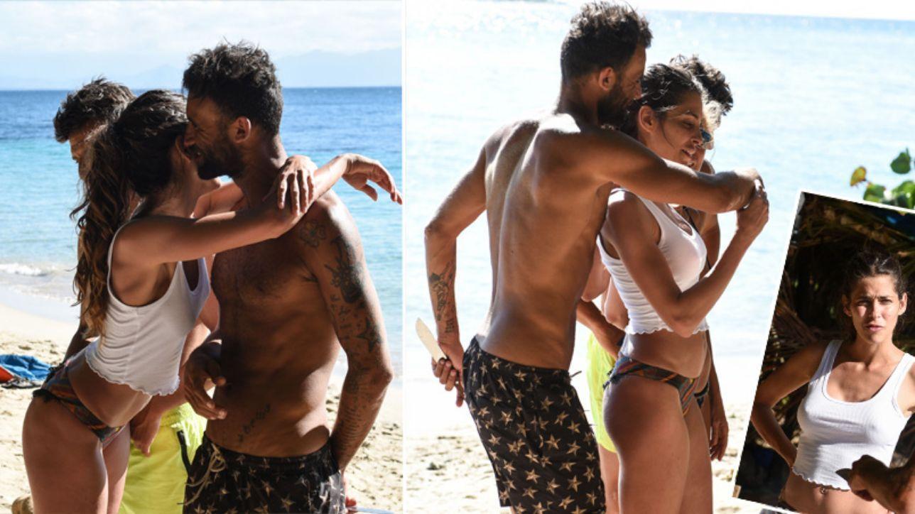 Isola dei famosi 2019, bacio tra Ariadna Romero e Ghezzal: «E' un figo pazzesco»