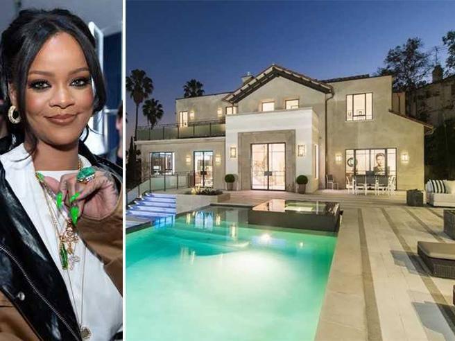 Rihanna cerca inquilini per la sua villa a Hollywood: ecco quanto costa l'affitto