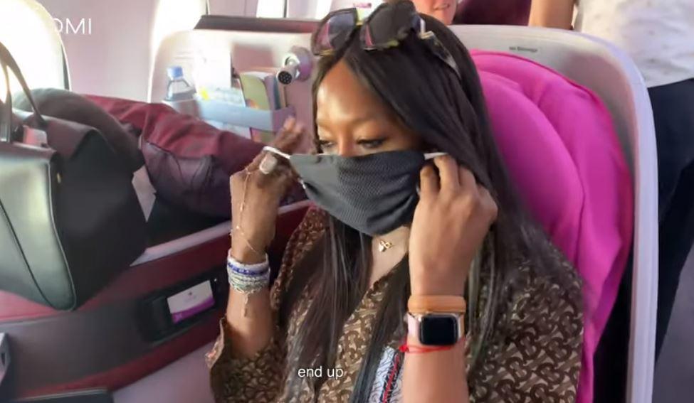 Naomi Campbell, l'ossessione della pulizia: «Viaggio sempre con la mascherina, la gente tossisce»