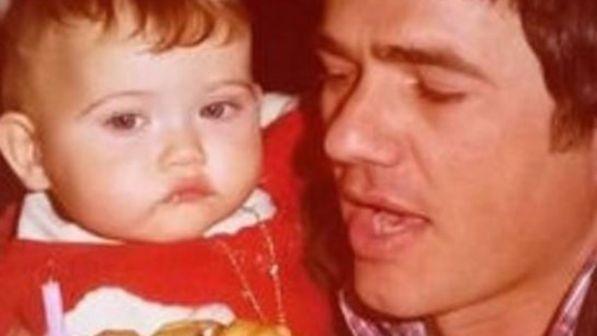 Chiara Francini, seria e paffutella al suo primo compleanno