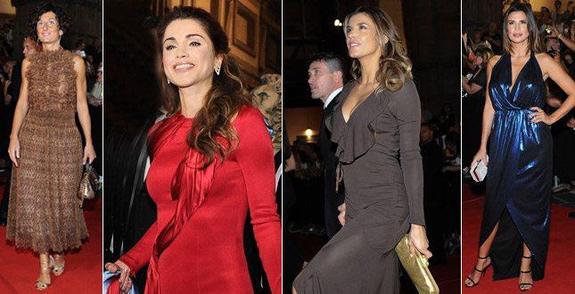 Agnese Renzi, Elisabetta Canalis e tanti altri: parata di vip al gala per Rania di Giordania