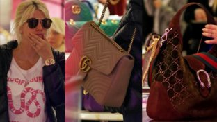 Wanda Nara a caccia di borse da Gucci