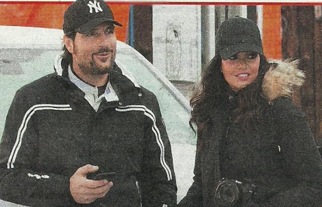 Laura Torrisi e Luca Betti inseparabili, bacio portafortuna prima della gara