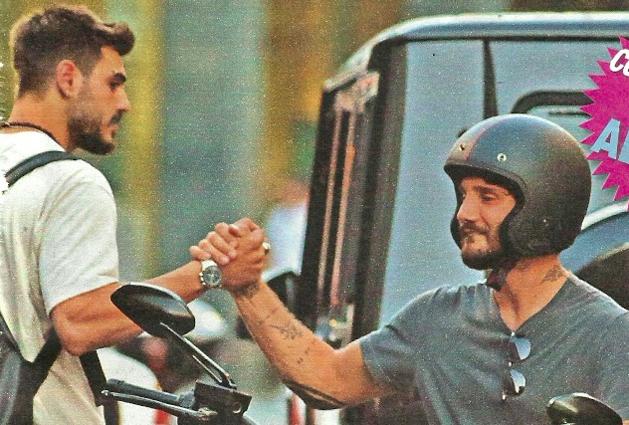 Francesco Monte e Stefano De Martino, gli ex delle sorelle Rodriguez si incontrano a Milano: ecco cosa è successo