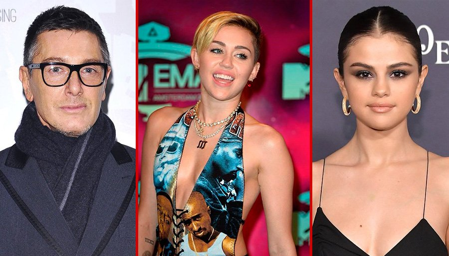 Stefano Gabbana fa arrabbiare Miley Cirus: cosa è successo sui social. C'entra Selena Gomez