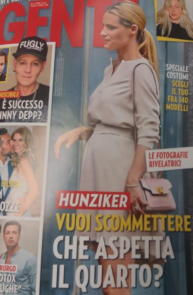 Michelle Hunziker in dolce attesa del quarto figlio? Le foto del