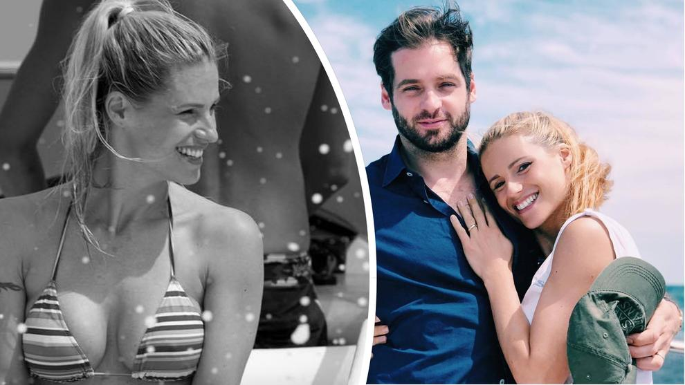 Michelle Hunziker e Tomaso Trussardi, amore e relax insieme in barca