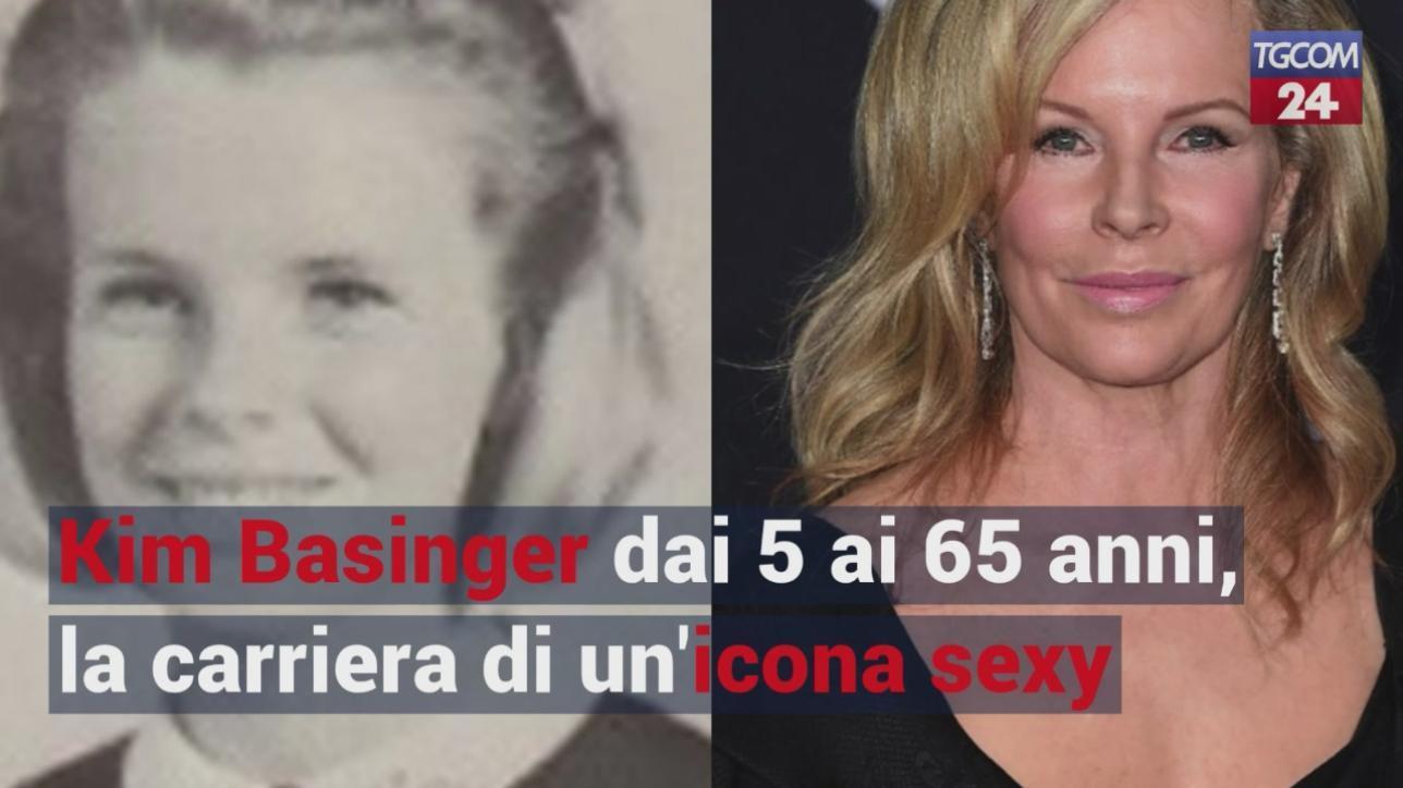 Kim Basinger dai 5 ai 65 anni, la carriera dell?icona sexy degli anni Ottanta