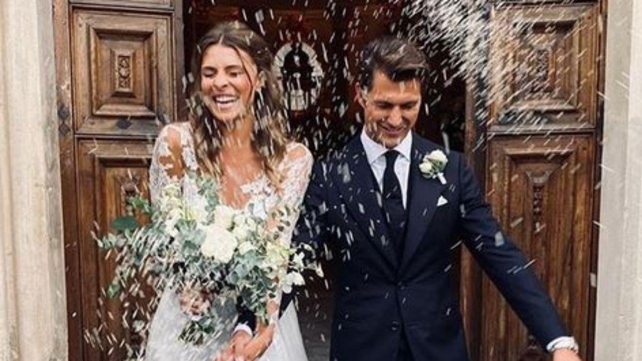 Cristina Chiabotto ha detto sì: a Venaria reale le nozze con Marco Roscio