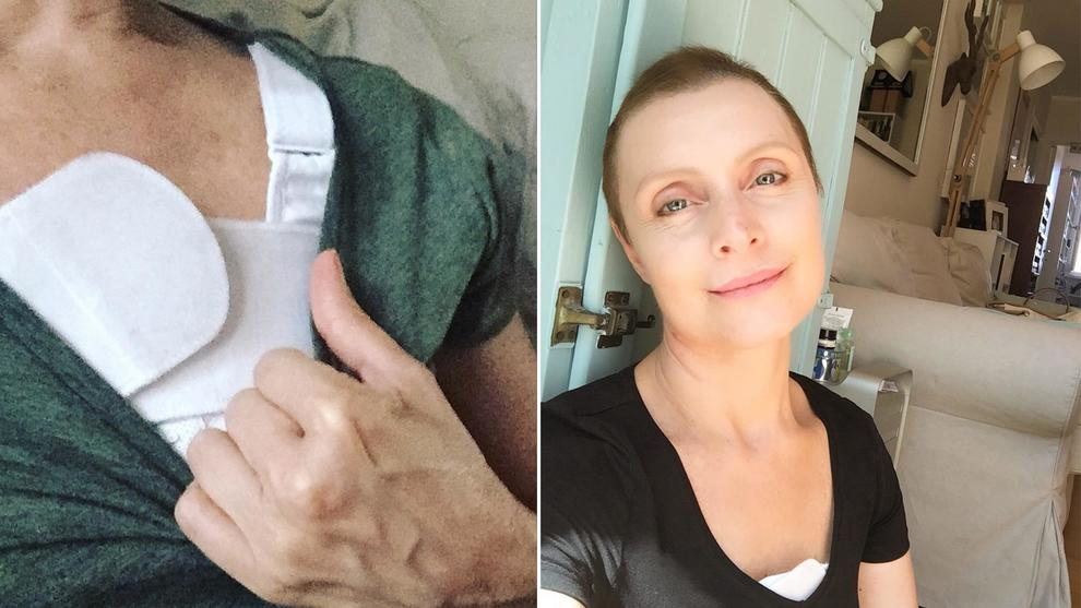 Sabrina Paravicini e il cancro, il post che commuove tutti: «Mi sono guardata allo specchio e ho visto la cicatrice...»