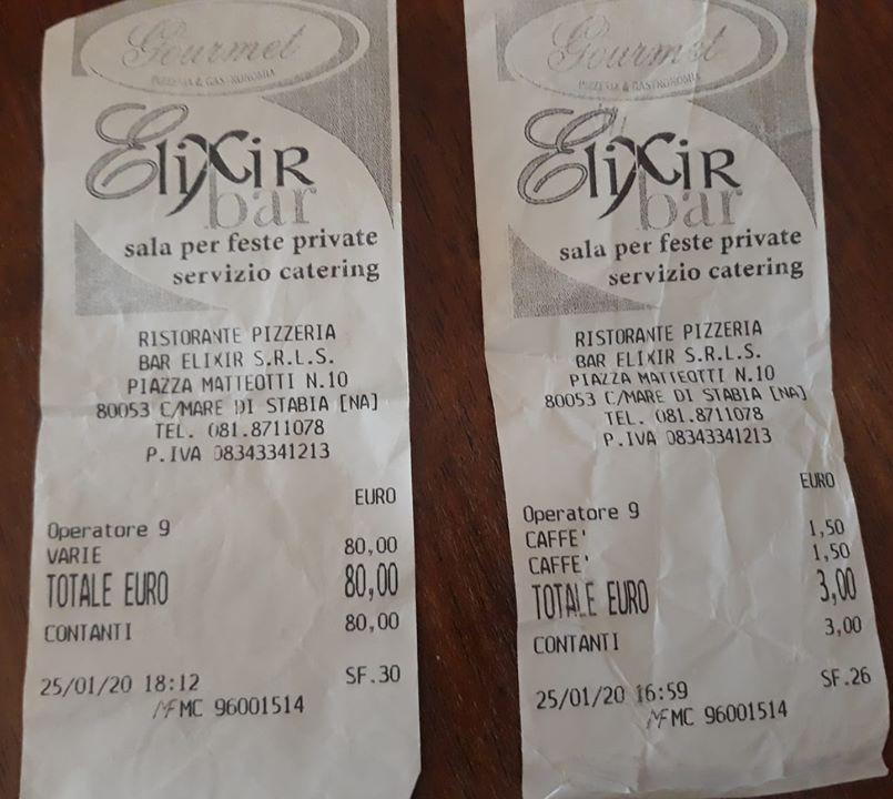 ?Scontrino da 80 euro per nove caffè al consigliere regionale campano: «Ladri autorizzati»