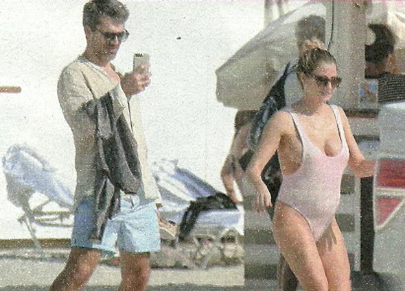 Luca Argentero e Cristina Marino col pancino, fuga romantica sotto al sole di Miami