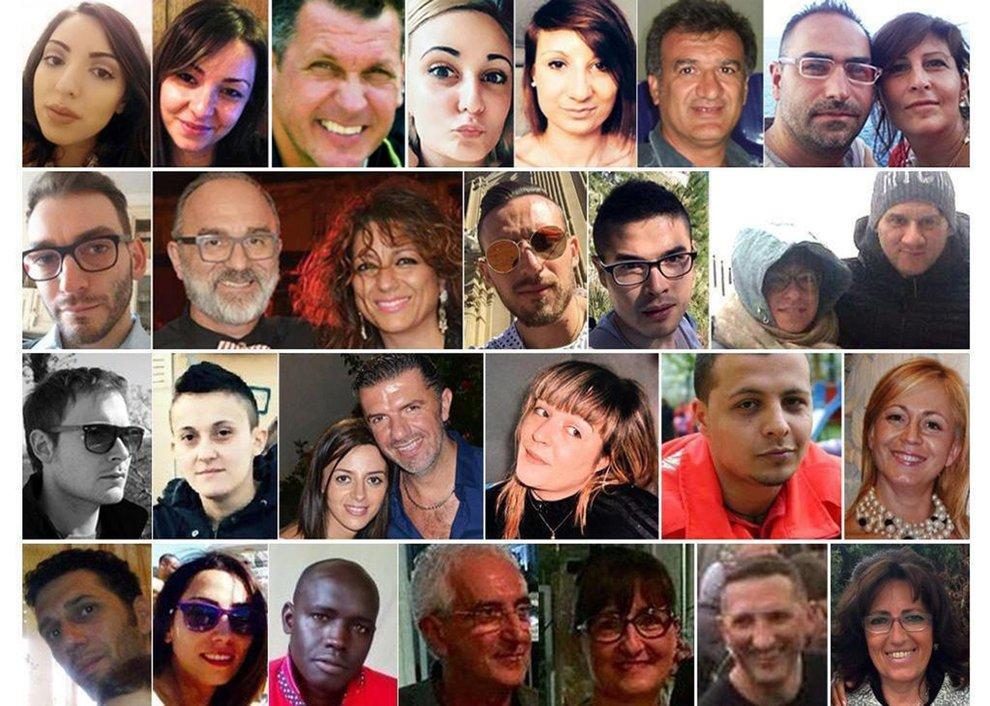 Rigopiano, tre anni fa la valanga uccise 29 persone: il ricordo delle vittime
